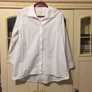 Chico's white button shirt